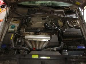 Volvo Engine Before
