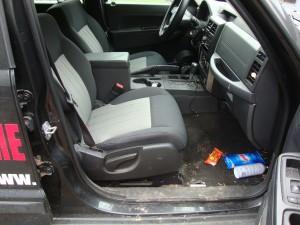 Jeep Interior Before